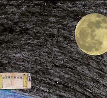 Spaceflight. on the way to the Moon frame 12. by albutross