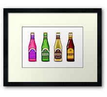 Beer Beer Beer Framed Print