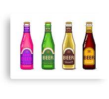 Beer Beer Beer Canvas Print