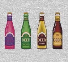 Beer Beer Beer One Piece - Short Sleeve