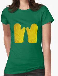 Oven Gloves Yellow T-Shirt