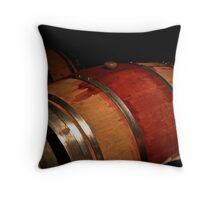 Time in a Barrel Throw Pillow