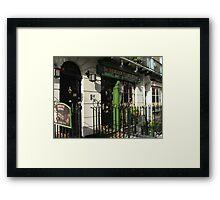 Sherlock Holmes Museum, London Framed Print