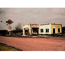 West Texas Diner Photographic Print