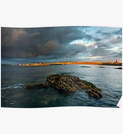 Bangor at sunset Poster