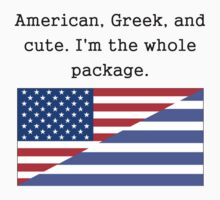 American Greek And Cute Kids Clothes