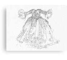 Cinderella's Gown Canvas Print