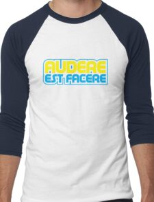 Spurs Latin Motto T-shirt Navy Men's Baseball ¾ T-Shirt
