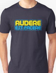 Spurs Latin Motto T-shirt Navy T-Shirt
