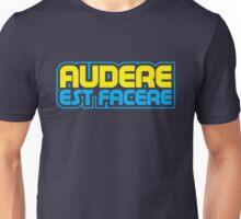 Spurs Latin Motto T-shirt Navy Unisex T-Shirt