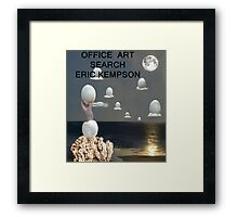Office art Framed Print