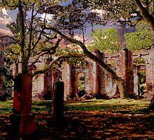 Sheldon Ruins by Larry Oates