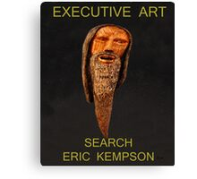 executive art, Canvas Print