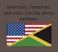 American Jamaican And Cute Kids Clothes