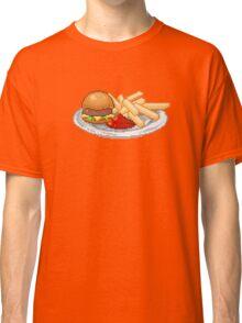 Pixel Burger Classic T-Shirt