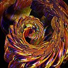 Metallic Swirl by Julie Everhart
