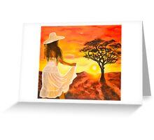37. Karoo Sun Greeting Card