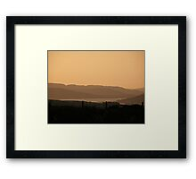 Mellow Evening over Donegal Ireland Framed Print