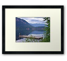 Lake Mara (2) Framed Print
