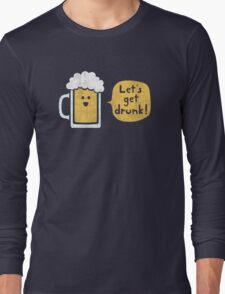 Drinking Buddy Long Sleeve T-Shirt
