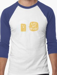 Drinking Buddy Men's Baseball ¾ T-Shirt