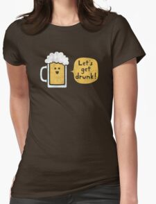 Drinking Buddy Womens Fitted T-Shirt