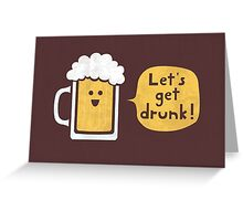Drinking Buddy Greeting Card