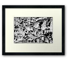 Tittle-Tattle Framed Print