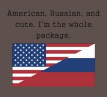 American Russian And Cute Kids Clothes
