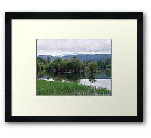 Lake Mara (4) Framed Print