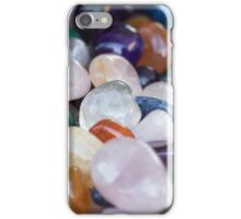 colored stones iPhone Case/Skin