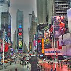 Times Square  by Alberta Brown Buller