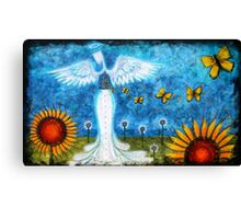 BUTTERFLIES IN THE STOMACH Canvas Print