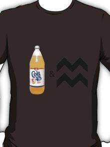 Colt 45 & 2 Zig Zags T-Shirt