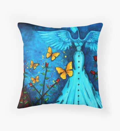 BUTTERFLY SYMPHONY Throw Pillow
