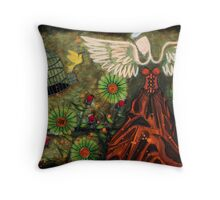 DEVINE NATURE Throw Pillow