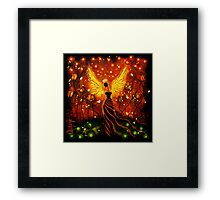 I GIVE YOU THE SUN, THE MOON AND THE STARS Framed Print