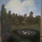 My 1st oil painting! by lisa martin