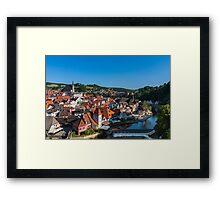 Cesky Kromlov, Czech Republic Framed Print