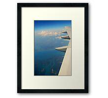 Florida Coast from the air Framed Print