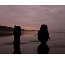 Down by the Sea Photographic Print