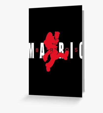 AIR MARIO Greeting Card