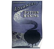 Libatius Borage's Advanced Potion Making  Poster