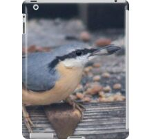 A taste for sunflower seeds iPad Case/Skin