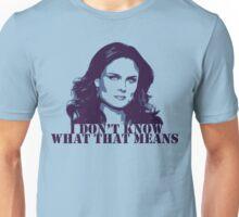 Bones - Temperance Brennan in blue Unisex T-Shirt