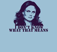 Bones - Temperance Brennan in blue Unisex T-Shirt