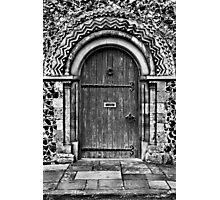 Door Of Mystery Photographic Print