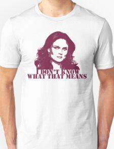 Bones - Temperance Brennan in red Unisex T-Shirt
