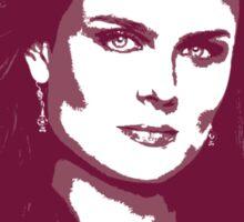 Bones - Temperance Brennan in red Sticker