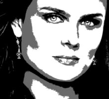 Bones - Temperance Brennan in black Sticker